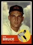 1963 Topps #24   Bob Bruce Front Thumbnail