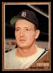 1962 Topps #349   Paul Foytack Front Thumbnail