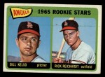 1965 Topps #194   Angels Rookie Stars  -  Bill Kelso / Rick Reichardt Front Thumbnail