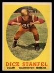 1958 Topps #39  Dick Stanfel  Front Thumbnail