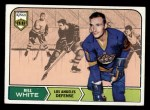 1968 Topps #37  Bill White  Front Thumbnail