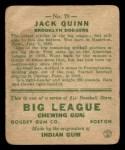 1933 Goudey #78  Jack Quinn  Back Thumbnail