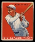 1933 Goudey #57  Earl Clark  Front Thumbnail