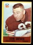 1967 Philadelphia #38  Johnny Brewer  Front Thumbnail