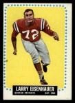 1964 Topps #8  Larry Eisenhauer  Front Thumbnail
