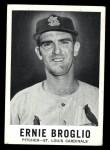 1960 Leaf #41   Ernie Broglio Front Thumbnail