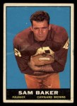 1961 Topps #74   Sam Baker Front Thumbnail