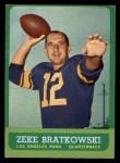 1963 Topps #38  Zeke Bratkowski  Front Thumbnail
