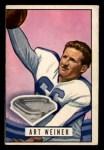 1951 Bowman #80   Art Weiner Front Thumbnail