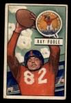 1951 Bowman #93   Ray Poole Front Thumbnail