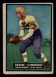 1951 Topps #8  Frank Guthridge  Front Thumbnail