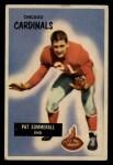 1955 Bowman #52   Pat Summerall Front Thumbnail