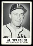 1960 Leaf #38  Al Spangler  Front Thumbnail