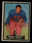 1951 Topps #69  Arnold Burwitz  Front Thumbnail