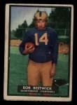 1951 Topps #28  Bob Bestwick  Front Thumbnail