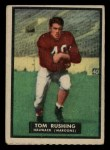 1951 Topps #29   Tom Rushing Front Thumbnail