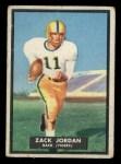 1951 Topps #41  Zack Jordan  Front Thumbnail