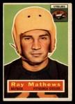 1956 Topps #75   Ray Mathews Front Thumbnail