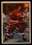 1954 Parkhurst #40  Glen Skov  Front Thumbnail
