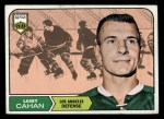 1968 Topps #35  Larry Cahan  Front Thumbnail