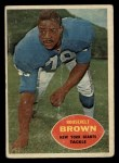 1960 Topps #78  Roosevelt Brown  Front Thumbnail
