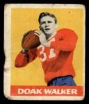 1948 Leaf #4  Doak Walker  Front Thumbnail
