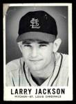 1960 Leaf #15  Larry Jackson  Front Thumbnail