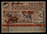 1958 Topps #86  Valmy Thomas  Back Thumbnail