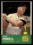 1963 Topps #398  Boog Powell  Front Thumbnail