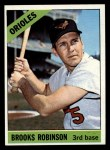 1966 Topps #390   Brooks Robinson Front Thumbnail