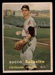 1957 Topps #212   Rocco Colavito Front Thumbnail
