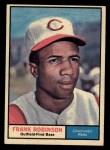 1961 Topps #360   Frank Robinson Front Thumbnail