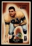 1955 Bowman #69   Tom Dahms Front Thumbnail