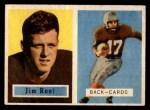 1957 Topps #112  Jim Root  Front Thumbnail