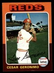 1975 Topps #41   Cesar Geronimo Front Thumbnail