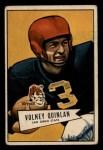 1952 Bowman Small #109  Volney Quinlan  Front Thumbnail