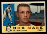 1960 Topps #288   Bob Mabe Front Thumbnail