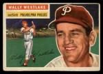 1956 Topps #81   Wally Westlake Front Thumbnail