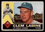 1960 Topps #29   Clem Labine Front Thumbnail