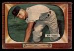 1955 Bowman #187   Fred Hatfield Front Thumbnail