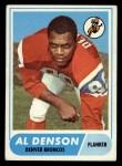1968 Topps #121  Al Denson  Front Thumbnail