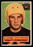 1956 Topps #75   Ray Mathews Front Thumbnail
