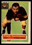 1956 Topps #3   Frank Varrichione Front Thumbnail