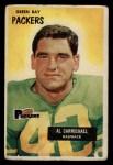 1955 Bowman #102   Al Carmichael Front Thumbnail