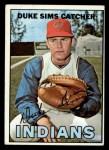 1967 Topps #3   Duke Sims Front Thumbnail