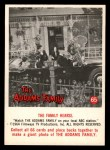 1964 Donruss Addams Family #65 AMR The family hearse  Front Thumbnail