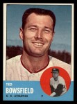 1963 Topps #339  Ted Bowsfield  Front Thumbnail