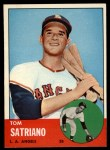 1963 Topps #548  Tom Satriano  Front Thumbnail