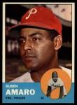 1963 Topps #455  Ruben Amaro  Front Thumbnail