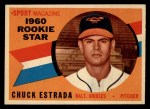 1960 Topps #126  Rookies  -  Chuck Estrada Front Thumbnail